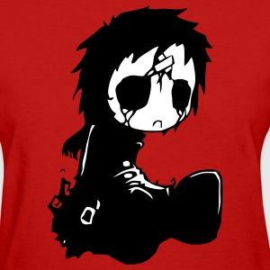 Gothic Girl Doll - Women's T-Shirt