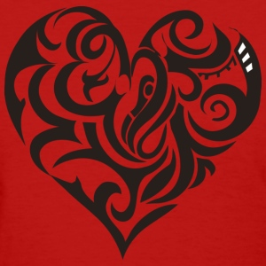 Tribal Heart - Women's T-Shirt