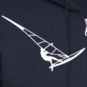 Surfer (vector) Zip Hoodies/Jackets - Men's Zip Hoodie