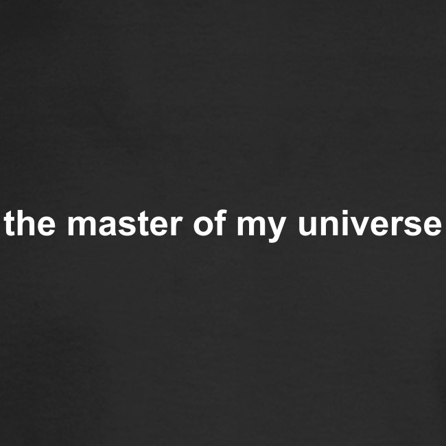 the master of my universe