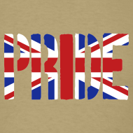 Design ~ PRIDE Britain Flag, British Flag, Union Jack, UK Flag