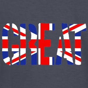 Great Britain Flag, British Flag, Union Jack, UK Flag - Kids' Long Sleeve T-Shirt