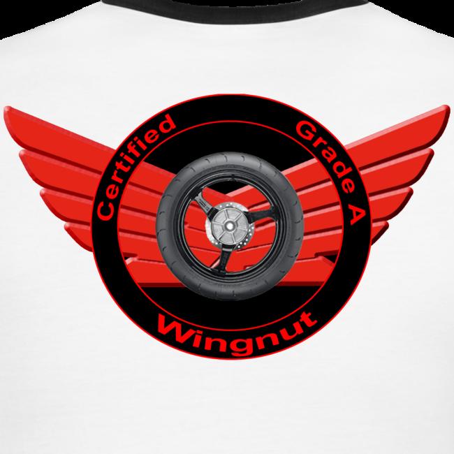 Men's L/W Ringer T-Back-Grade A wingnut