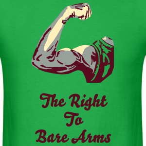 The Right To Bare Arms T-Shirts - Men's T-Shirt
