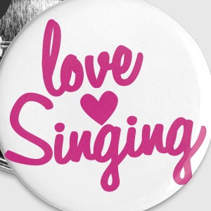 love singing Buttons - Small Buttons