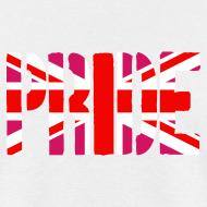 Design ~ Gay Pride Britain Flag, Pink British Flag, Pink Union Jack, UK Flag