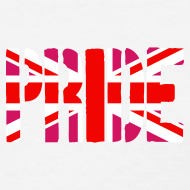 Design ~ Gay Pride Britain Flag, Pink British Flag, Pink Union Jack, UK Flag