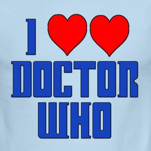 I Heart Love Doctor Who Dr. T-Shirts - Men's Ringer T-Shirt