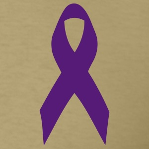 purple ribbon T-Shirts - Men's T-Shirt