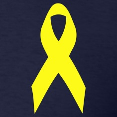 yellow ribbon T-Shirts