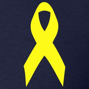 yellow ribbon T-Shirts - Men's T-Shirt