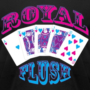 royal_flush T-Shirts - Men's T-Shirt by American Apparel