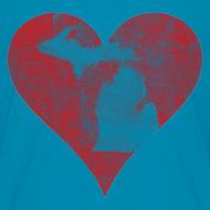 Design ~ Mi Distressed Heart Children's T-Shirt