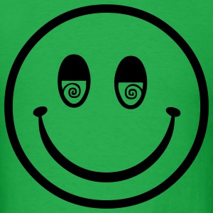 seventies hippie smiley T-Shirts - Men's T-Shirt