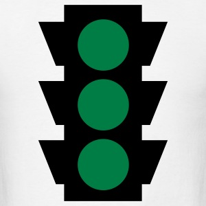 traffic light 2c T-Shirts - Men's T-Shirt