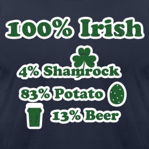 Irish T-Shirts - Men's T-Shirt by American Apparel