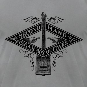 SecondHand Cigar Box Guitar Shirt - Men's T-Shirt by American Apparel