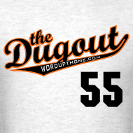 Design ~ TimTheEnchanter #55 (Tim Lincecum) Giants Dugout T (Ash)