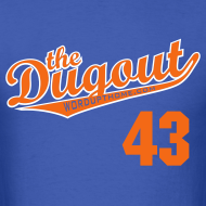 Design ~ RADickal #43 (R.A. Dickey) Mets Dugout T