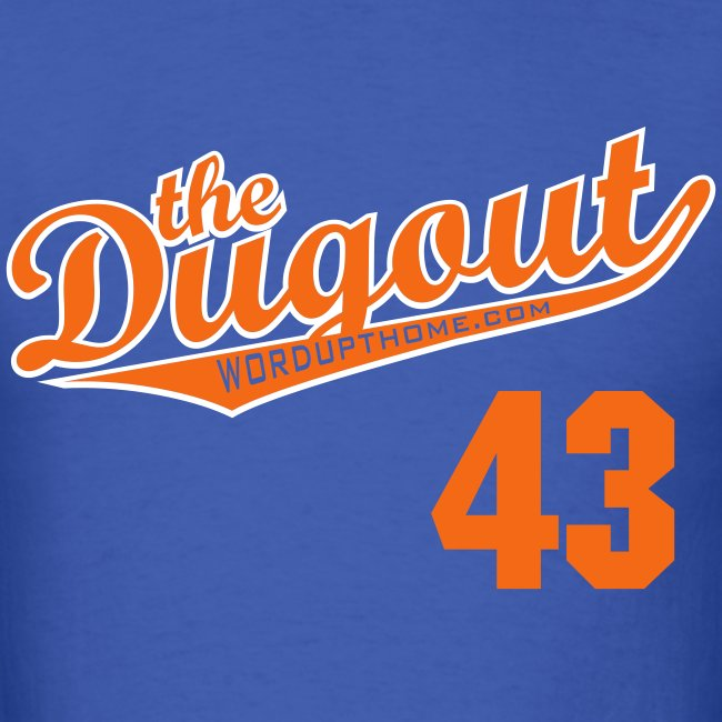RADickal #43 (R.A. Dickey) Mets Dugout T