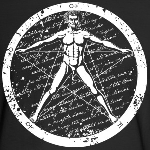 Agrippa Pentagram (round for dark) Long Sleeve Shirts - Men's Long Sleeve T-Shirt