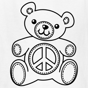Teddy Bear Coloring T-shirt - Kids' T-Shirt