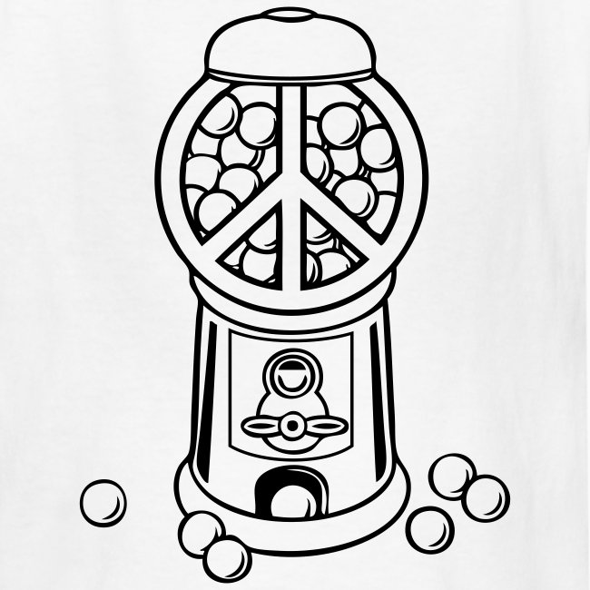 Coloring T Shirts Gumball Machine Coloring T Shirt