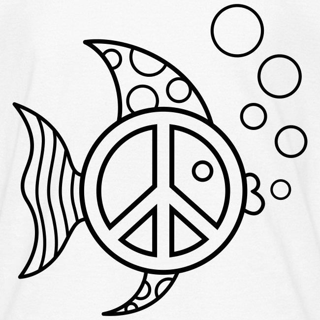 Angel Fish Coloring T-shirt