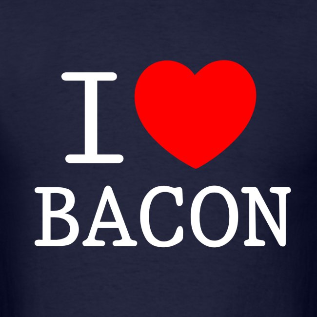 I LOVE BACON dark