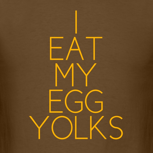 EGG YOLKS dark