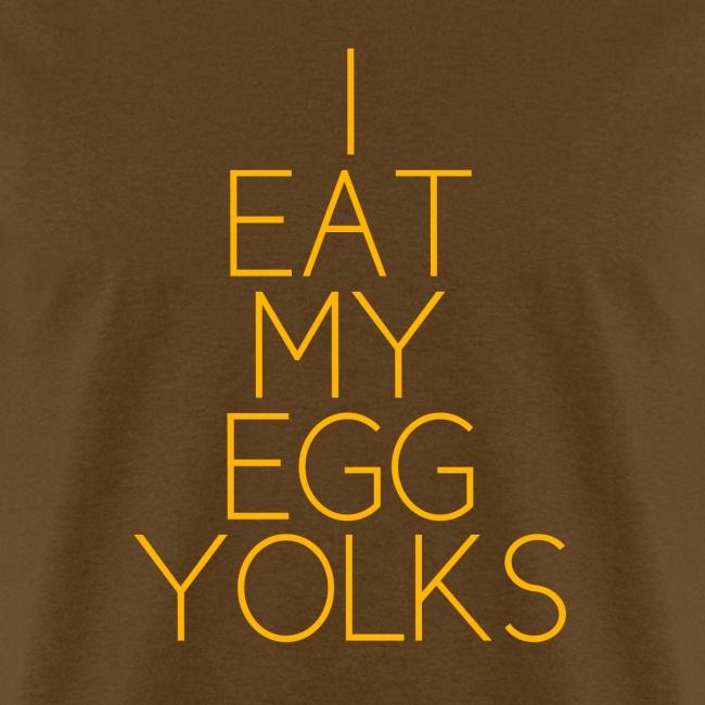 EGG YOLKS dark
