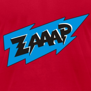 Zaap Cartoon Comic T-Shirts - Men's T-Shirt by American Apparel