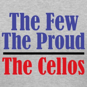 The Few, The Proud. The Cellos. - Women's V-Neck T-Shirt