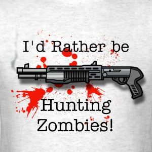 Zombie Hunter Shirt - Men's T-Shirt