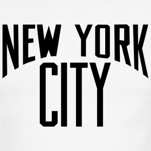 Lennon New York City T Shirt - Men's Ringer T-Shirt