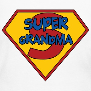 Super Grandma Long Sleeve Shirts - Women's Long Sleeve Jersey T-Shirt