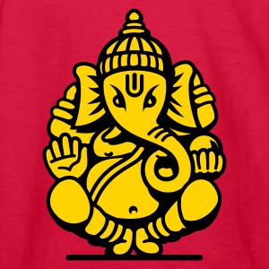 Ganesh Ganesa Ganapati 04_2c Kids' Shirts - Kids' Long Sleeve T-Shirt