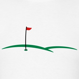 golf hole 3c T-Shirts - Men's T-Shirt