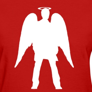 Women's Angel Tee (White) - Women's T-Shirt