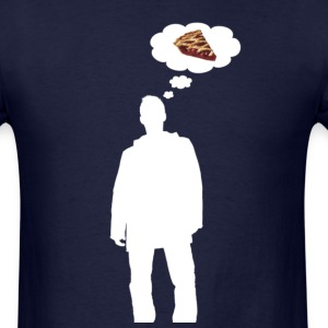 Men's Pie Tee (White) - Men's T-Shirt