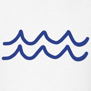 Waves T-Shirts - Men's T-Shirt