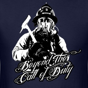 Beyond the Call of Duty - Men's T-Shirt