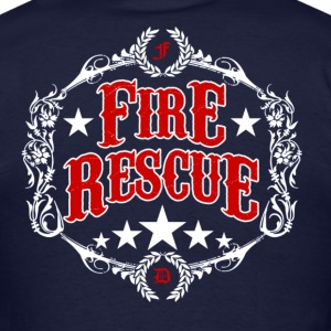 American Fire Rescue - Men's T-Shirt