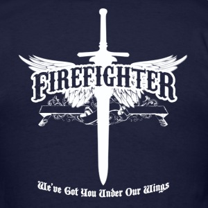 Firefighter Wings - Men's T-Shirt