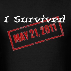 Men's I survived T-shirt - Men's T-Shirt