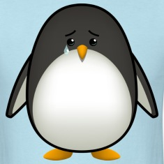 Sad Penguin T-Shirts