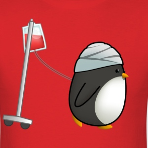 Running Penguin T-Shirts - Men's T-Shirt