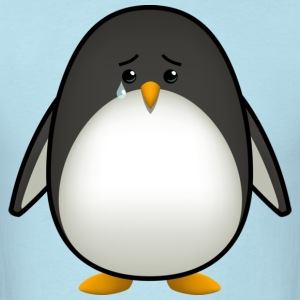 Sad Penguin T-Shirts - Men's T-Shirt