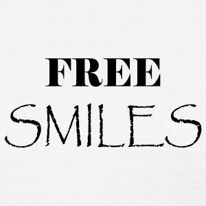 Free Smiles - Women's T-Shirt