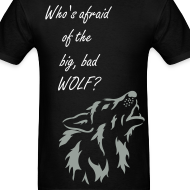 Design ~ Big, Bad Wolf Men's Standard Weight Shirt